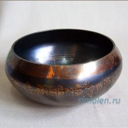 Тибетская поющая чаша коричневая ЛК-2