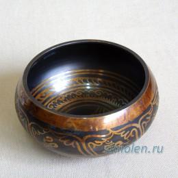 Тибетская поющая чаша коричневая ЛК-4