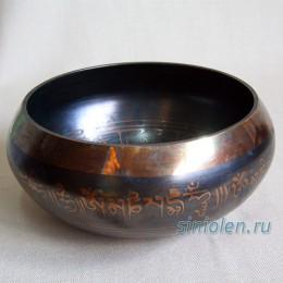 Тибетская поющая чаша коричневая ЛК-5