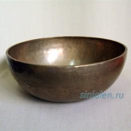 Тибетская  поющая чаша ручной ковки РКС-4
