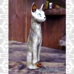 Фигурка из глины  «Кошка»