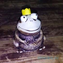 Фигурка из глины  «Царевна-лягушка»
